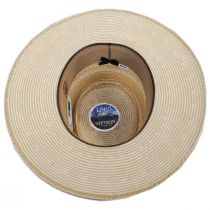 Batterson Shantung Straw Gambler Hat alternate view 4