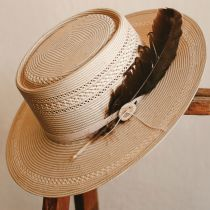Batterson Shantung Straw Gambler Hat alternate view 5