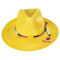 Argonaut Panama Straw Fedora Hat alternate view 15