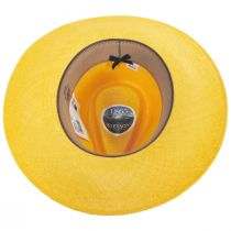 Argonaut Panama Straw Fedora Hat alternate view 17