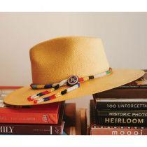 Argonaut Panama Straw Fedora Hat alternate view 18