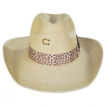 Wild Thing Palm Straw Western Hat alternate view 2