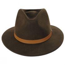 Messer Toffee Wool Felt Fedora Hat alternate view 10
