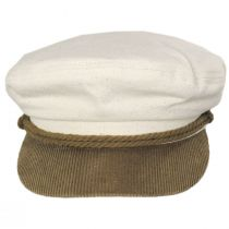 2-Tone Cotton Fiddler's Cap alternate view 2