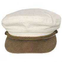 2-Tone Cotton Fiddler's Cap alternate view 6