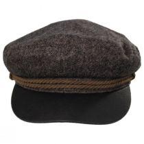 Tweed Wool Blend Fiddler's Cap alternate view 2