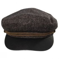 Tweed Wool Blend Fiddler's Cap alternate view 6