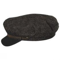 Tweed Wool Blend Fiddler's Cap alternate view 7