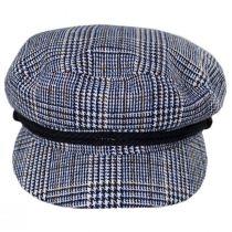 Tweed Blue Fiddler's Cap alternate view 10
