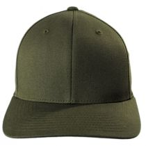 Combed Twill MidPro FlexFit Fitted Baseball Cap alternate view 17