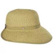 Toast Tan Toyo Straw Braid Facesaver Hat alternate view 3