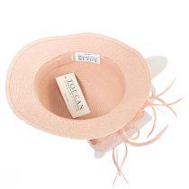 Toyo Straw Sinamay Trim Cloche Hat alternate view 4