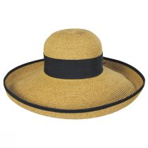 Packable Kettle Edge Toyo Straw Lampshade Hat alternate view 3