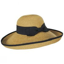 Packable Kettle Edge Toyo Straw Lampshade Hat alternate view 4