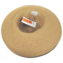 Packable Kettle Edge Toyo Straw Lampshade Hat alternate view 5