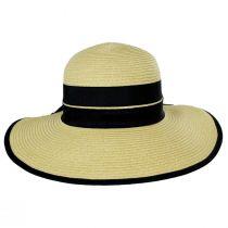 Back Bow Toyo Straw Sun Hat alternate view 2