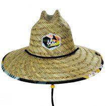 Bermuda Straw Lifeguard Hat alternate view 2