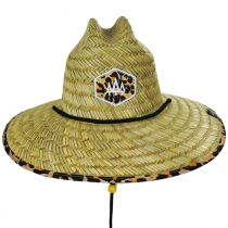 Big Cat Straw Lifeguard Hat alternate view 2