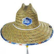 Lazy Dazy Straw Lifeguard Hat alternate view 2