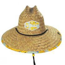 Peel Straw Lifeguard Hat alternate view 2