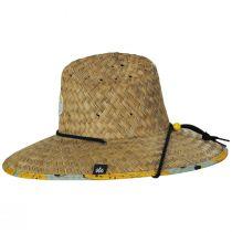 Peel Straw Lifeguard Hat alternate view 3