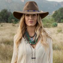 Gypsy Wool Felt Western Hat alternate view 11