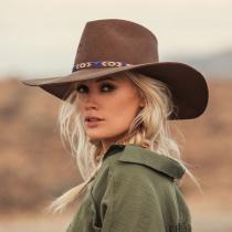 Gypsy Wool Felt Western Hat alternate view 12