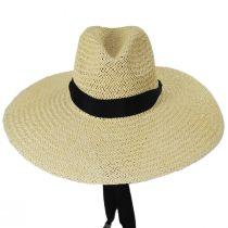Marina Toyo Straw Wide Brim Fedora Hat alternate view 2