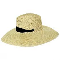 Marina Toyo Straw Wide Brim Fedora Hat alternate view 3