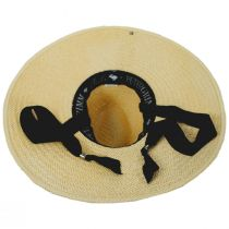 Marina Toyo Straw Wide Brim Fedora Hat alternate view 4