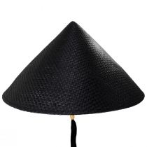 Toyo Straw Pyramid Sun Hat alternate view 2