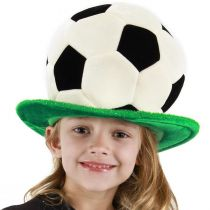 Soccer Ball Plush Hat alternate view 2