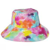 Vibrante Vinyl Rain Bucket Hat alternate view 7