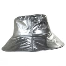 Peta Vinyl Rain Bucket Hat alternate view 3