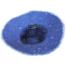 Star Tracker Frayed Cotton Bucket Hat alternate view 4