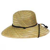 California Flag Rye Straw Lifeguard Hat alternate view 3