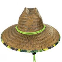 Avocado Coconut Straw Lifeguard Hat alternate view 2