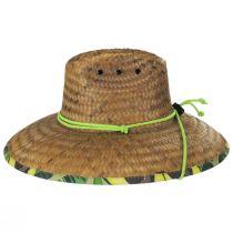 Avocado Coconut Straw Lifeguard Hat alternate view 3