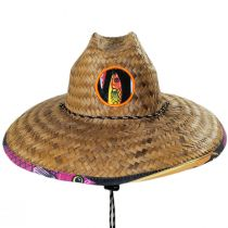 Lures Coconut Straw Lifeguard Hat alternate view 2