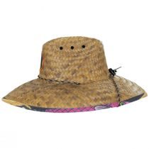 Lures Coconut Straw Lifeguard Hat alternate view 3