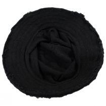 Frayed Edge Cotton Bucket Hat alternate view 4