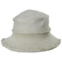 Frayed Edge Cotton Bucket Hat alternate view 6