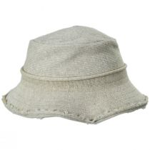 Frayed Edge Cotton Bucket Hat alternate view 7
