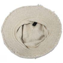 Frayed Edge Cotton Bucket Hat alternate view 8