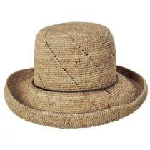 Lana Crocheted Raffia Straw Sun Hat alternate view 2