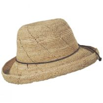 Lana Crocheted Raffia Straw Sun Hat alternate view 3