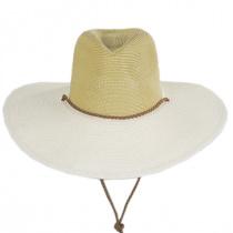 Suze Braided Toyo Straw Aussie Hat alternate view 2