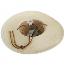 Suze Braided Toyo Straw Aussie Hat alternate view 4