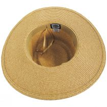 Diego Striped Band Toyo Straw Blend Boater Hat alternate view 8