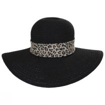 Cameroon Leopard Scarf Braided Swinger Sun Hat alternate view 2